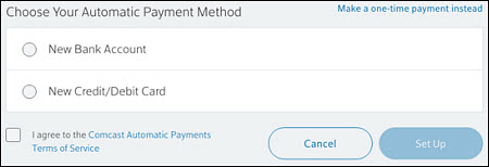 Set Up or Cancel Automatic Payments