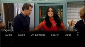 xfinity x1 guide color change