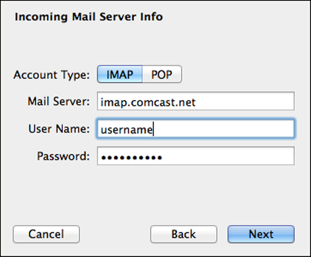 how to change comcast internet password