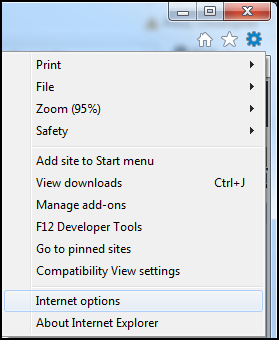 how to set your homepage on internet explorer