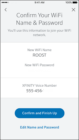 Make sure you have the right name and password for your wifi network