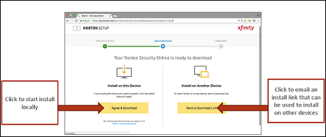 Install Norton Security Online on your Mac