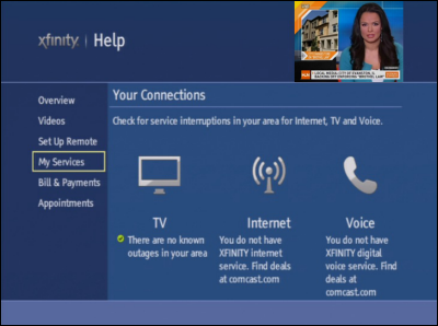 Self-Service On Your Non-X1 TV Box - Overview