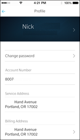 Edit Your Name in the Xfinity My Account App