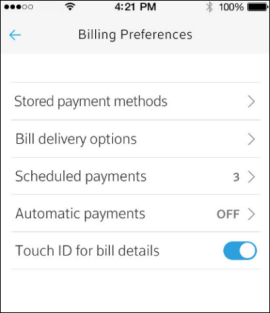 View or Pay Your Bill with the Xfinity My Account App