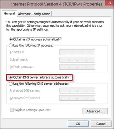 comcast dns server ip address