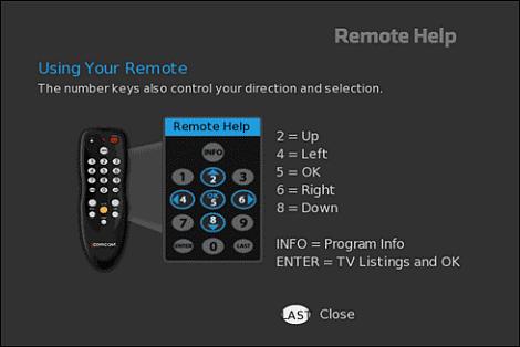 Xfinity Digital Transport Adapter Remote Control - Digital Photos