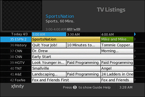 How to Use Your TV Adapter's On-Screen Guide