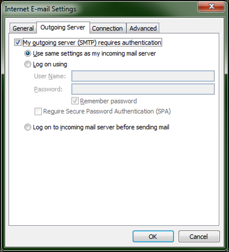 Configure Outlook 2007 For Comcast Email