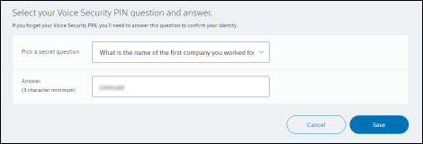 How Do I Change My Security Question and Answer?