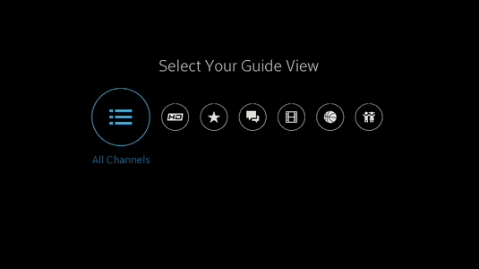 Image result for xfinity x1 selection guide