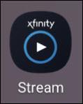 Xfiinty stream logo tile.