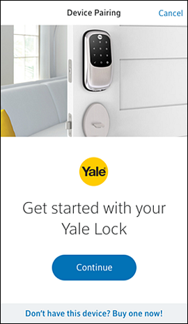 Install and Pair Your Yale Lock