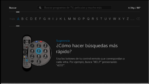 get your x1 menu in spanish Xfinity TV Set Top Box