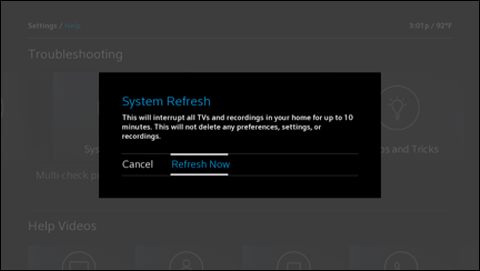 X1 System Refresh Feature Overview