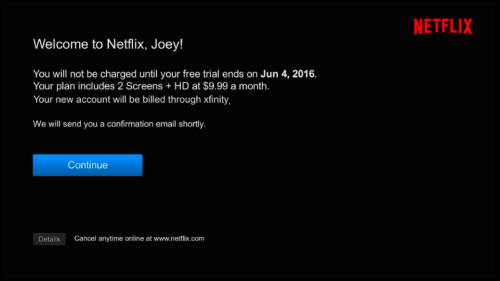 How to Sign Up for Netflix on Xfinity X1