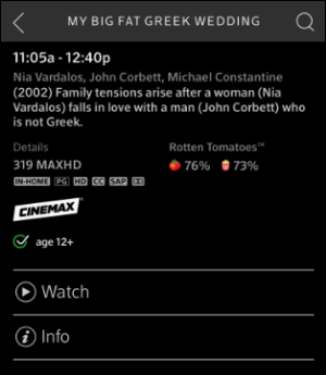 xfinity stream apple tv