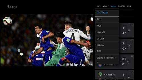 Access and Watch Games on the X1 Sports App