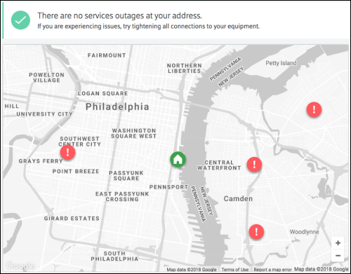 Check For Xfinity Outages On The Comcast Outage Map