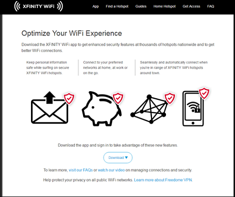 Download The XFINITY WiFi Hotspots App Or Profile To Prioritize Your Home  Network