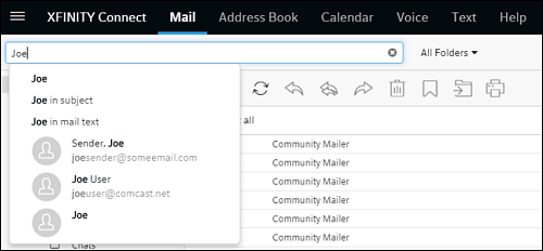 Top Tips for Searching Your Inbox - Xfinity Connect Help