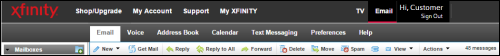 XFINITY Connect Old Experience