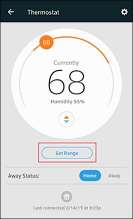 Controla tu termostato nest desde la xfinity home app para equipos m viles - Nest thermostat stylish home temperature control ...