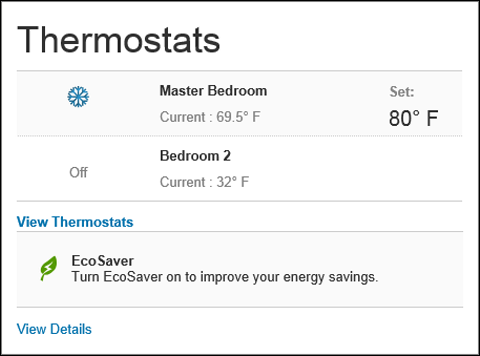 Manage Thermostat Settings from the XFINITY Home Subscriber Portal