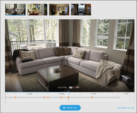 Setting Camera Motion Sensitivity From Your Xfinity Home
