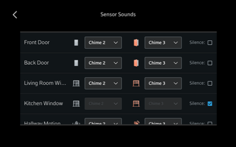 Change Sound Settings for Your Xfinity Home Touchscreen Controller