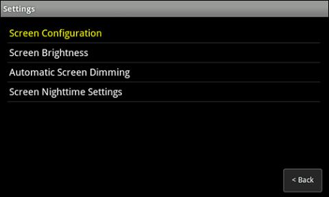 how to change print screen settings