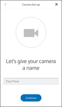 Pair and Install a Camera Using the Xfinity Home App