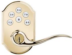 Kwikset SmartCode 912 Touchpad Electronic Lever Lock