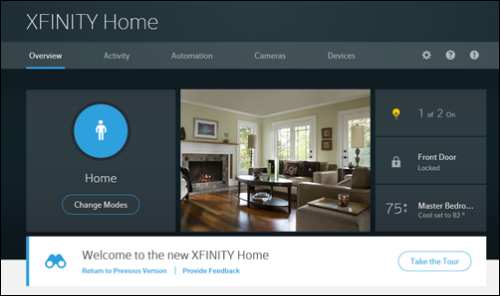 The new XFINITY Home Subscriber Portal.