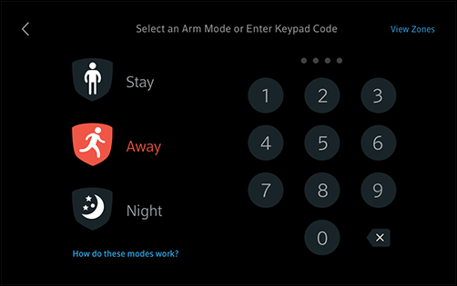 Arm And Disarm Your Xfinity Home Security From The Touchscreen
