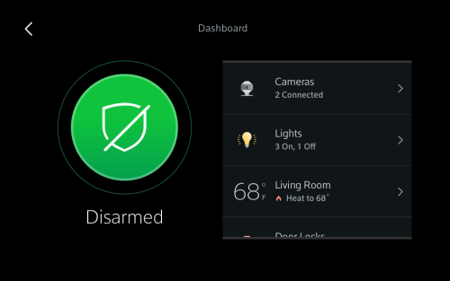 Manage Thermostat Settings from the Xfinity Home Touchscreen Controller
