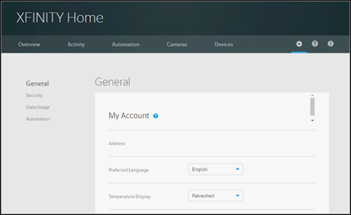 Home Subscriber Portal - see XFINITY Home: Accessing the XFINITY Home ...