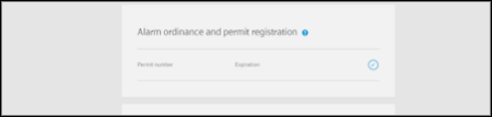Adding Alarm Permit Numbers to Your XFINITY Home Subscriber Portal