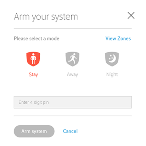 Arm And Disarm Your Xfinity Home System From Your Subscriber Portal