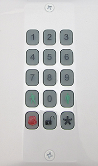 SMC Wireless Keypad.