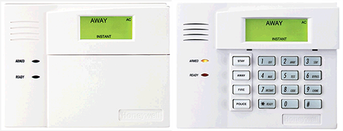 Honeywell Keypads for an XFINITY Home system.