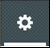 Settings icon - this icon looks like a spoked wheel