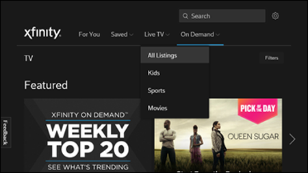 View Programs from Your Xfinity Stream Portal