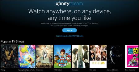 Xfinity Comcast Tv Listings